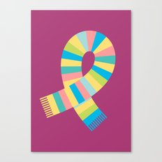 #13 Scarf Canvas Print