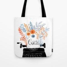 Create | Typewriter Tote Bag