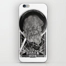 Sherlock Holmes Chalkboard iPhone Skin