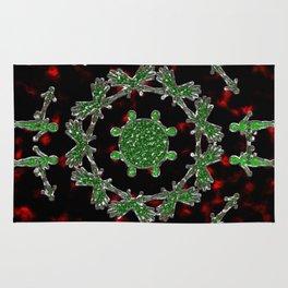 Extraterrestrial Mandala Rug