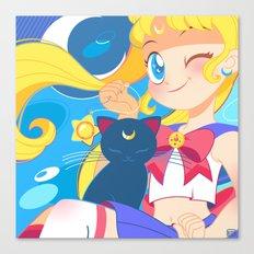 Sailor Moon by Bunny Canvas Print