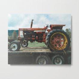 Northbend Tractor Metal Print