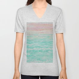 Tropical Sunset Unisex V-Neck