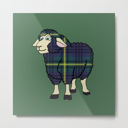 Modern Johnstone Sheep Metal Print