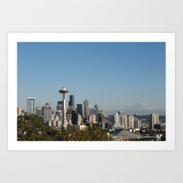 Space Needle from Kerry Park Art Print
