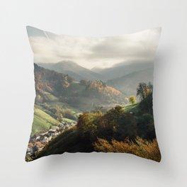 Schwarzwald Autumn Throw Pillow