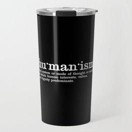 Humanism Travel Mug