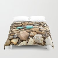 egg Duvet Covers featuring Egg by Mylittleradical