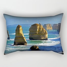 Limestone Rock Stacks - Twelve Apostles Rectangular Pillow