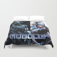 robocop Duvet Covers featuring Robocop by store2u