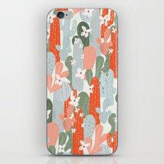 Floral Cactus iPhone & iPod Skin