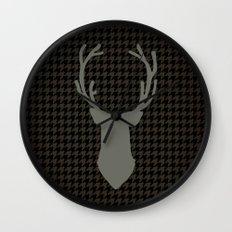 Le cerf my deer. Wall Clock
