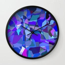 Matisse Blue Wall Clock