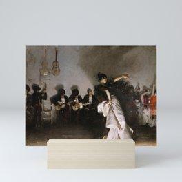 John Singer Sargent's El Jaleo Mini Art Print