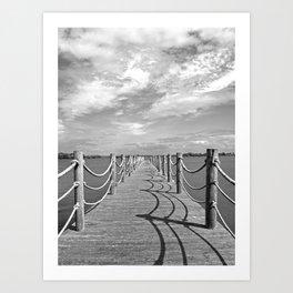 Cast your shadow Art Print