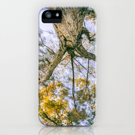 They didn't know how beautiful the earth could be until they left the block iPhone Case