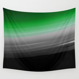 Green Gray Black Ombre Wall Tapestry