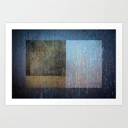 Geometric Texture Abstract I Art Print