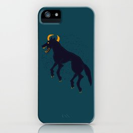 bewitched by the wolf iPhone Case