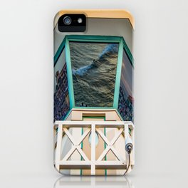 Surf City Reflects  iPhone Case