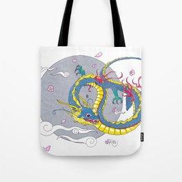 Four Guardians - Dragon Tote Bag