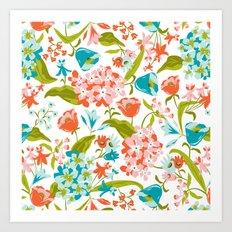 Amilee White Art Print