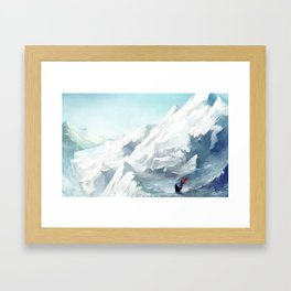 Adventure with you Framed Art Print