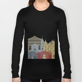 Rennes skyline poster Long Sleeve T-shirt