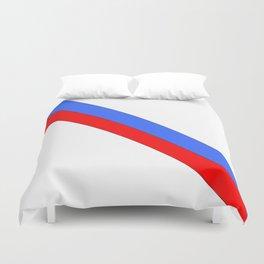 Flag of Haiti 2 -haitan,haitien,port aux princes,cap haitien,carrefour,antilles. Duvet Cover