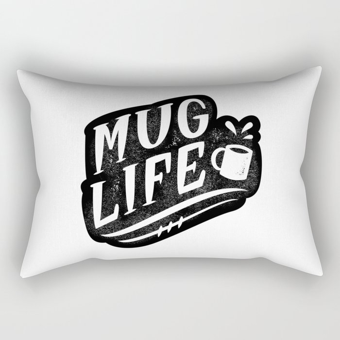 Mug Life Rectangular Pillow