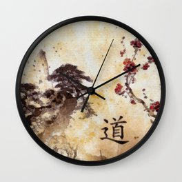 Tao Te Ching Wall Clock