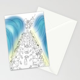 Passover Seder (without text) Stationery Cards
