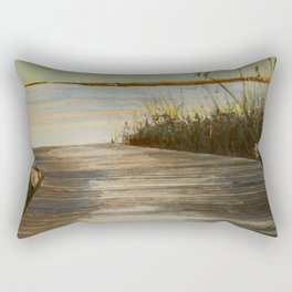 """On The Right Path""  Rectangular Pillow"