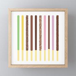 Pocky Sticks Framed Mini Art Print