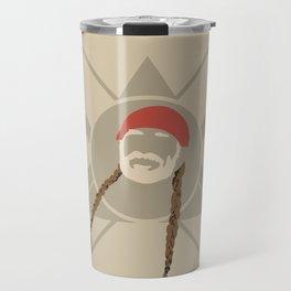 Willie Nelson Travel Mug
