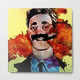 Groucho M. Metal Print