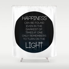 Harry Potter Albus Dumbledore Quote Shower Curtain