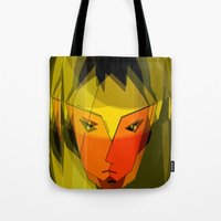 android Tote Bags featuring ANDROID. by capricorn