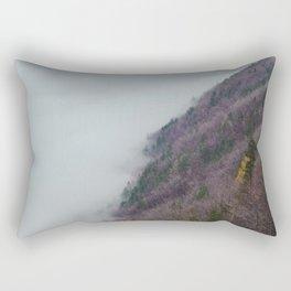 The Purple Hillside Rectangular Pillow