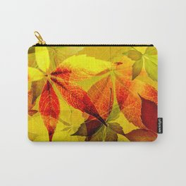 Virginia Creeper autumn colors Carry-All Pouch