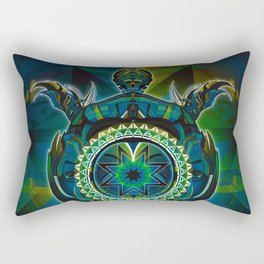 Turtle Spirit Rectangular Pillow