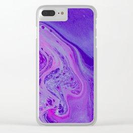 Cosmic Dream Clear iPhone Case