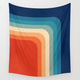 Retro 70s Color Palette III Wall Tapestry