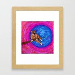 Tree Monster Framed Art Print