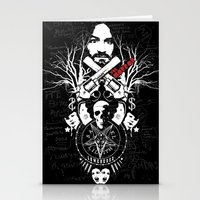horror Stationery Cards featuring Horror by Lowercase Industry