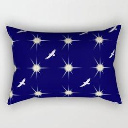 Départ vers les étoiles... Rectangular Pillow