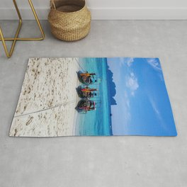 Island Hopping on Longtails Rug