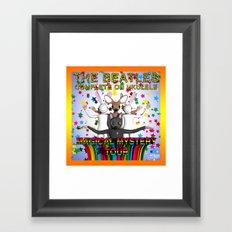 Magical Mystery Tour Framed Art Print
