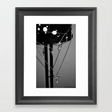 Crossing. Framed Art Print