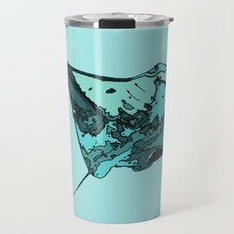 Manta Ray Manta birostris Travel Mug